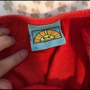 C & C California Strapless Midi Dress S